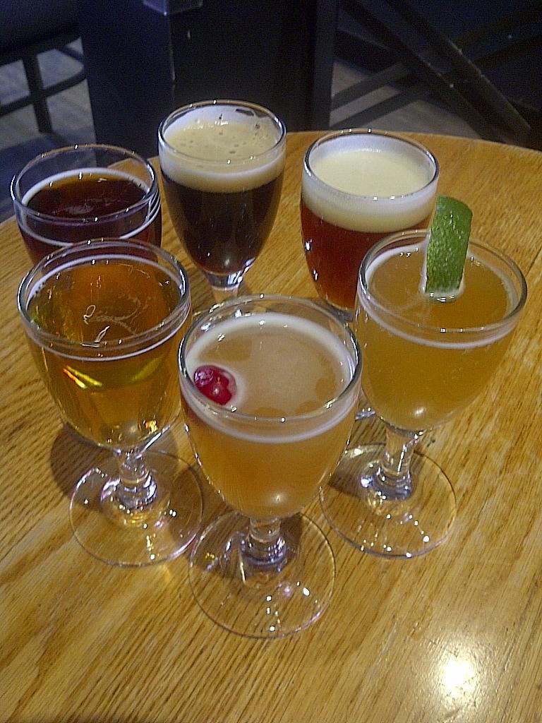 Inox Quebec city beer sampler